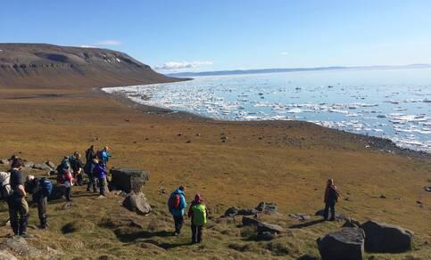 Edgeøya, Spitsbergen, tijdens SEES (2015).
