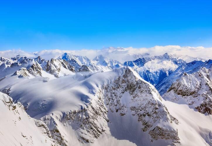 Sneeuw in de Alpen. Bron: Denis Linine/Pixabay