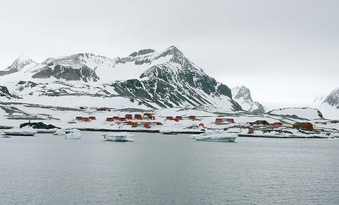 Esperanza Research Station (Argentinië), Antarctica (foto: Heiner Kubny).