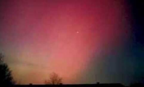 Poollicht in Nederland op 13 maart 1989 (foto Jacob Kuiper, Weather Pictures International)