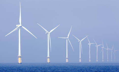 Windpark (bron: pixabay.com).
