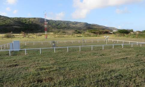 Weerstation op St. Eustatius