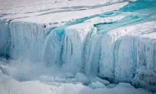 Waterfall Antarctic