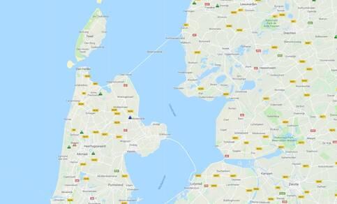Locatie  seismische stations