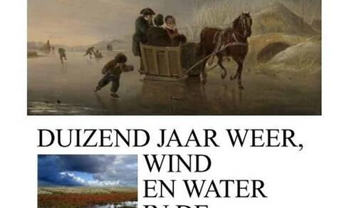 Boekomslag van Duizend jaar weer, wind en water in de Lage Landen
