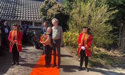 Aan de heer Geert Jan van Oldenborgh is een koninklijke onderscheiding uitgereikt
