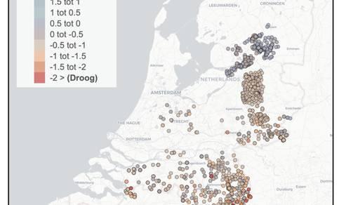 voorbeeld droogteportaal.nl