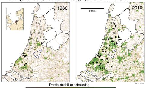 Bebouwing in Nederland