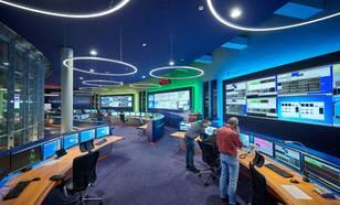 EUMETSAT Mission Control Centrum. Bron: EUMETSAT.