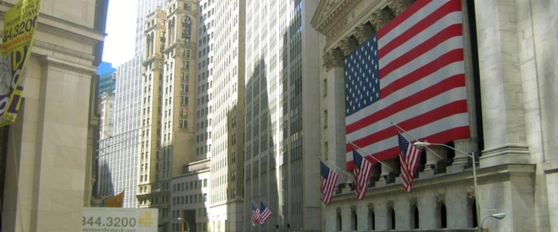 wall street new york verenigde staten