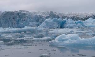 Smeltend gletsjerijs
