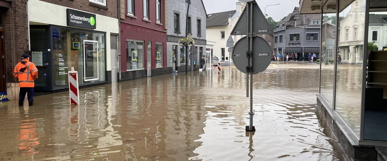 Wateroverlast Zuid-Limburg